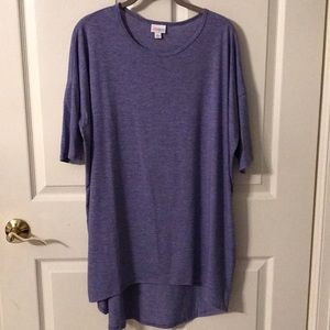 Lularoe Irma deep purple heather